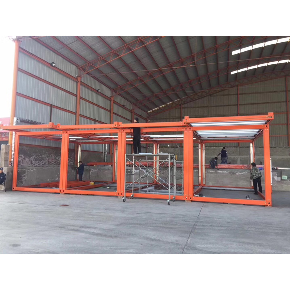 flat pack 40ft 40 feet shipping container frame steel