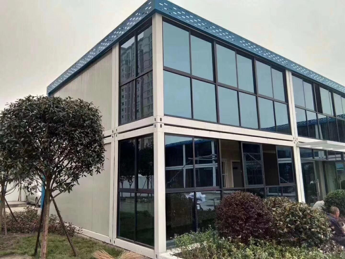 specification of sandwich panel flat pack container house homes frame