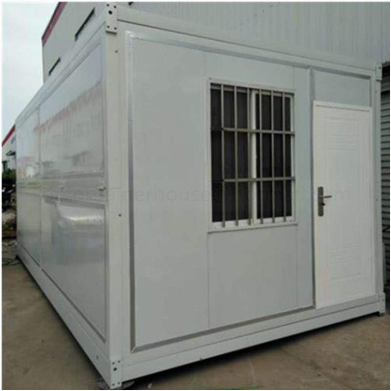 prefab 20ft foldable folding container house for sale