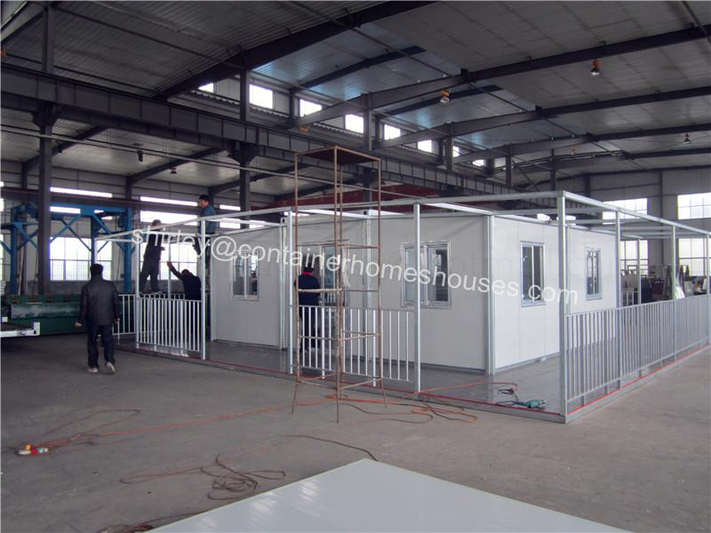 china prefabricated expandable container home house living