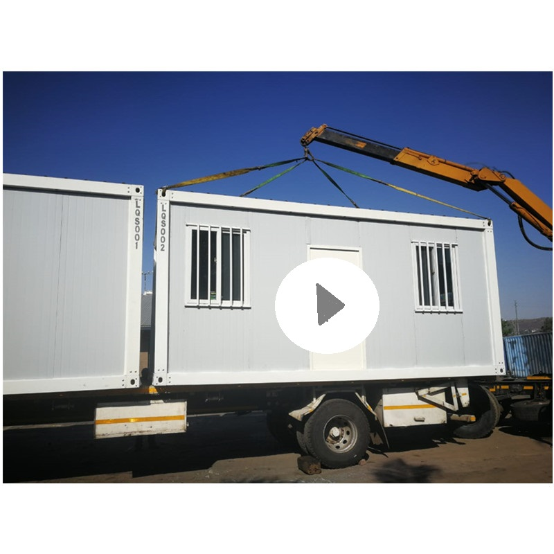 collapsible house container prefabricated installation