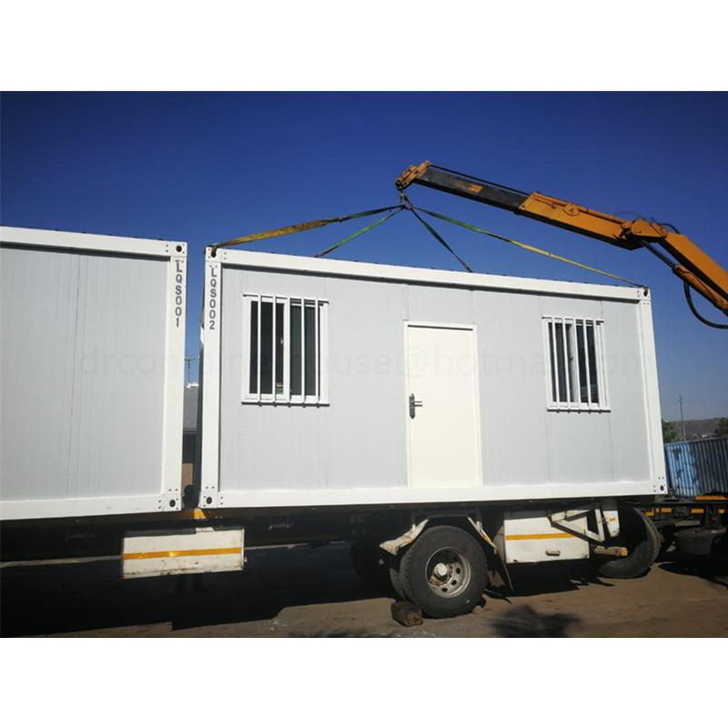 prefabricated insulated container house in south africa