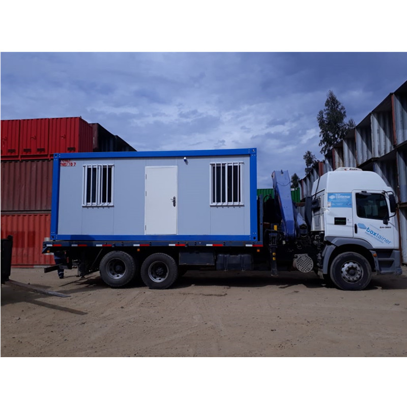 portable iso casas container office chile project