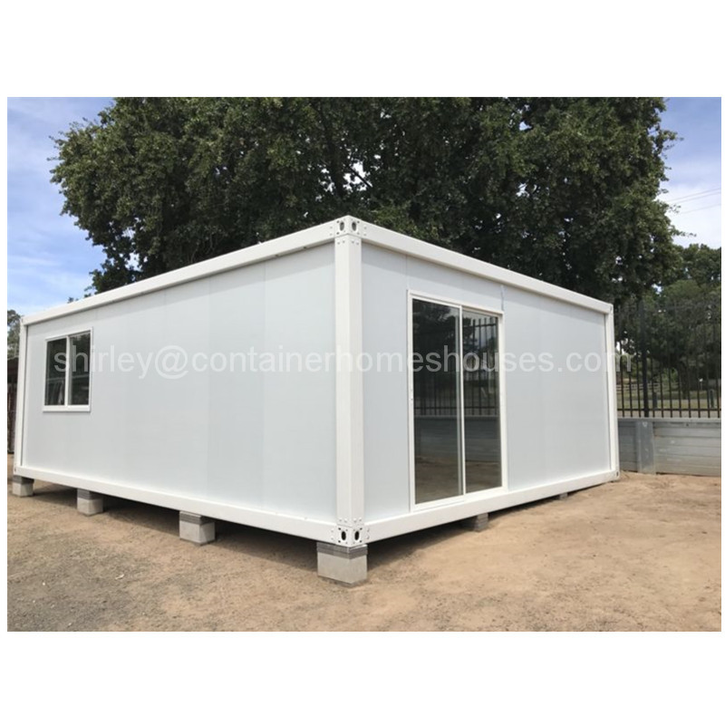 prefab steel cargo simple container house home cabin