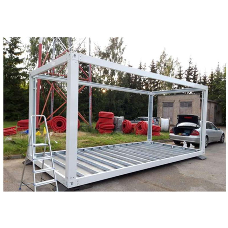 flat pack shipping container house frames modular 6000*3000