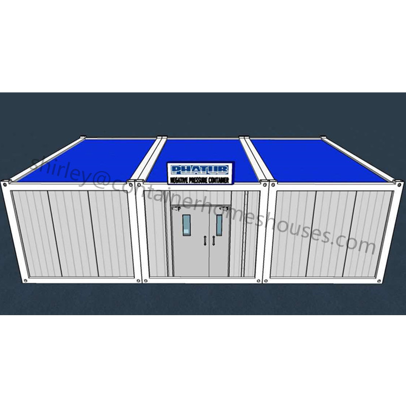 prefab material for mini container hospital building clinic construction
