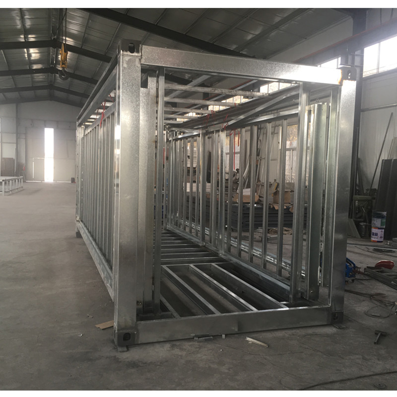 china 20ft expandable steel structure containers house frame