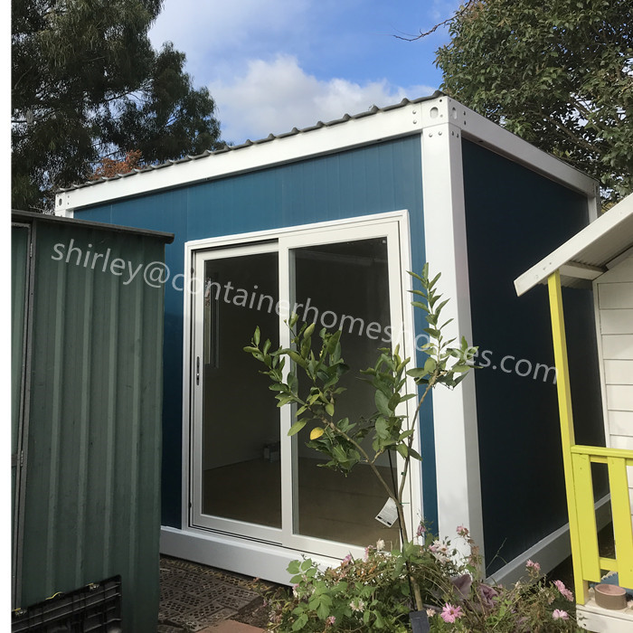 portable complex shipping container house for office booth 20ft