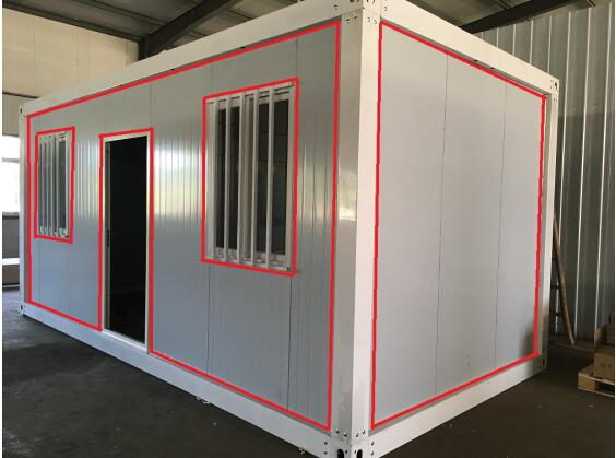installation instruction of collapsible container home & garden sheds